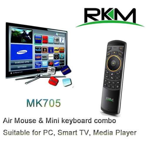 Newest Rikomagic MK705 2 4GHz Wireless Keyboard Air Mouse
