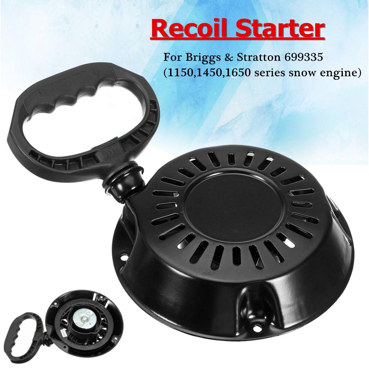 Recoil Starter For Briggs /& Stratton 1150 1450 1650 Snow Series Motor 699335