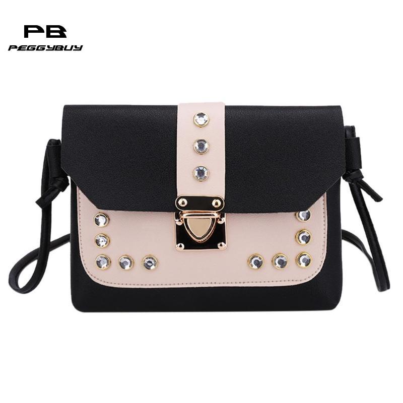 e1b3eacc6b52 Fashion crossbody bags for women leather handbags Mini Messenger Bags  Travel clutch female Totes shoulder bag bolso mujer 2019