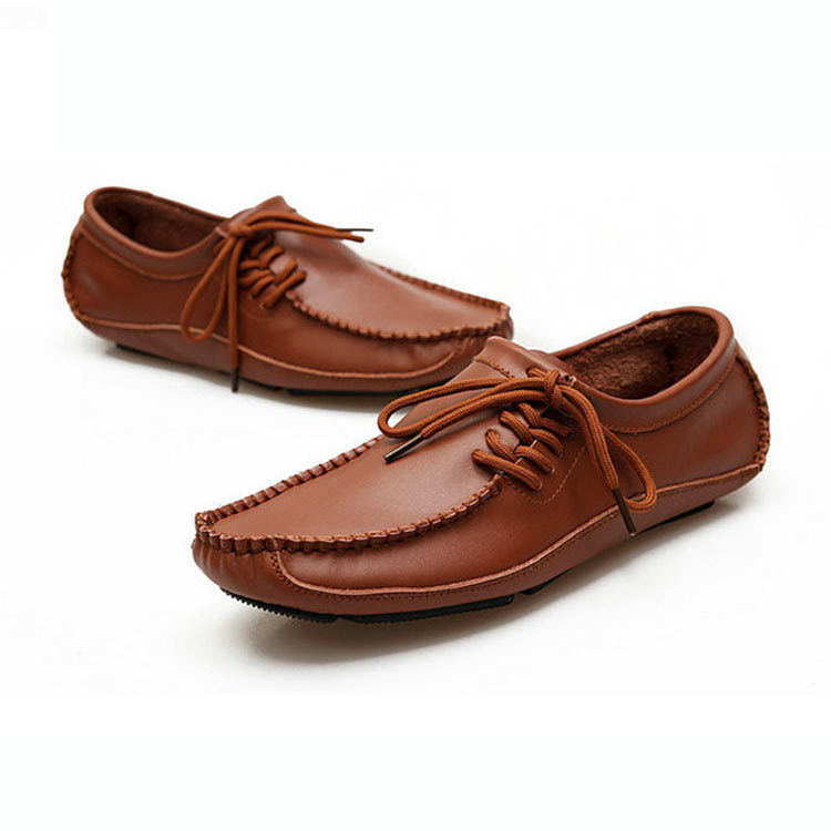 Men's Men's Brown Loafers Synthetic Leather