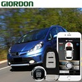 Подходит для 13 автомобильных аксессуаров без ключа удобная система PKE Phone APP дистанционный запуск двигателя автомобиля Автосигнализация Push ...