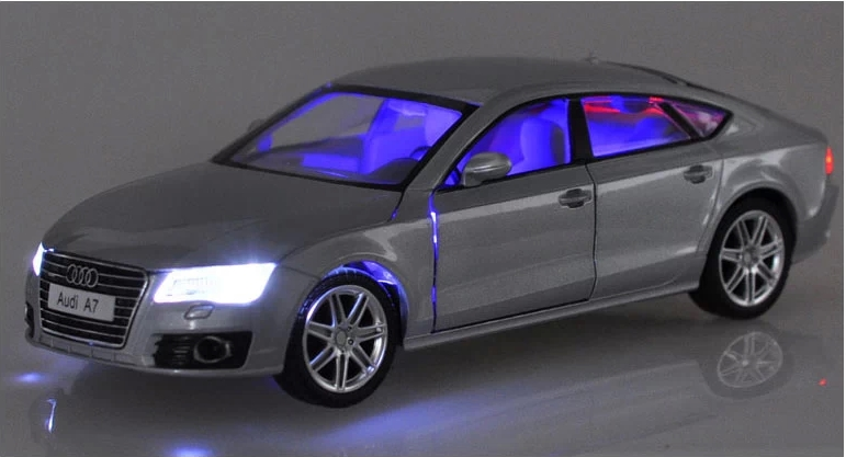 Scale Alloy Diecast Car Model For Audi A Sportback - Audi car models
