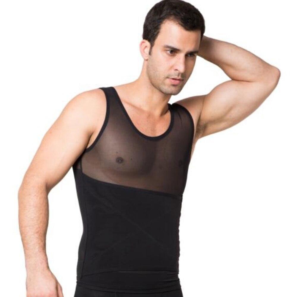 33e33dc7ed Men s body shaper mesh shapewear for men sauna sweat suit steampunk tummy  shaper losing weight shapers man -in Shapers from Underwear   Sleepwears on  ...