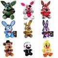 1 pcs Funko FNAF cinco noites no freddy Foxy urso bonecas de brinquedo de pelúcia bichos de pelúcia brinquedos de pelúcia raposa
