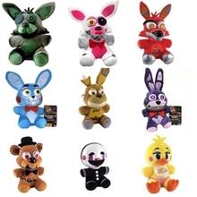 1pcs FNAF Five Nights At Freddy Foxy Fear Toy Plush Dolls Stuffed Animals Plush Fox Doll For Baby Christmas Gifts