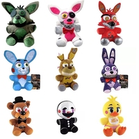 1pcs FNAF five nights at freddy Foxy  bear toy plush dolls stuffed animals plush fox toys