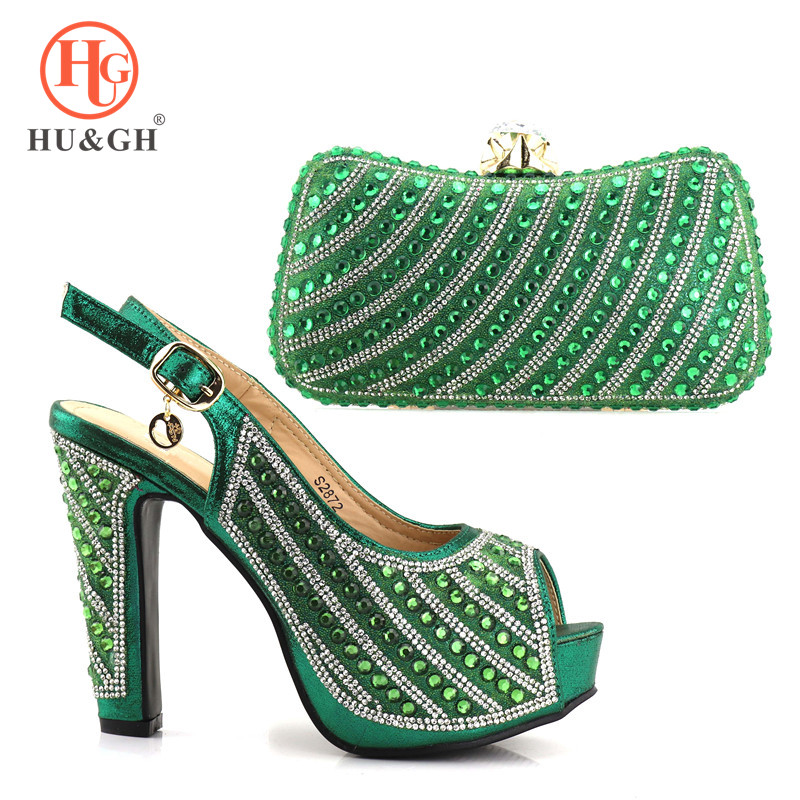 2018 New Italian Design Shoes and Bag To Matching Shoe and Bag Set For Party Nigerian Women Fashion Shoe and Bag Set For African new design african woman shoes and bag sets free shipping fashion italian matching shoe and bag set high quality 1703v0322d30