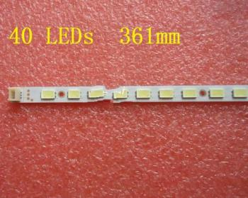 1 piece T315XW06.V.3 LED strip 31T15-03 73.31T14.004-6-SK1 40 LEDs 361MM,used parts,tested weel working 40 l141h4 pwg1cg good working tested