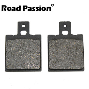 Road Passion Motorcycle Rear Brake Pads For HONDA CRM125R CRM 125 CRM125 R 1990-1999 NSR125F NSR125R NSR NSR125 F/R 1988-2001 image