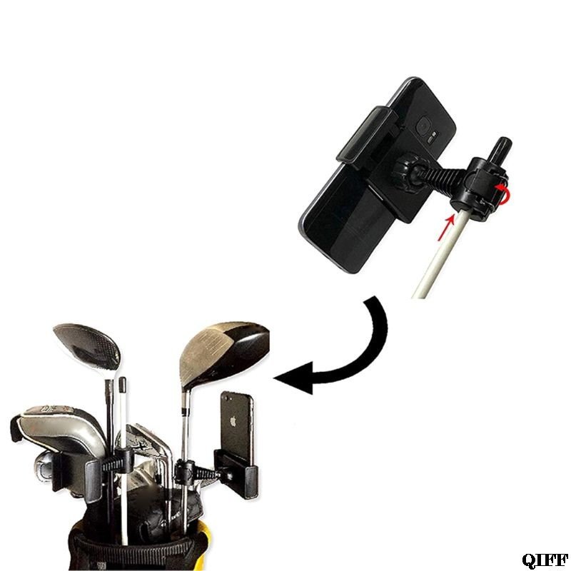 Golf swing felvevő tartó mobiltelefon klip tartó edző gyakorlási - Golf - Fénykép 5