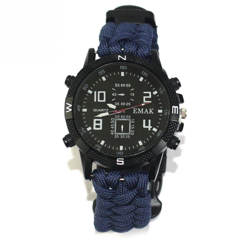 aeProduct.getSubject()  EDC Tactical multi Outside Tenting survival bracelet watch compass Rescue Rope paracord gear Instruments package HTB1Dr1UFStYBeNjSspkxh6U8VXar