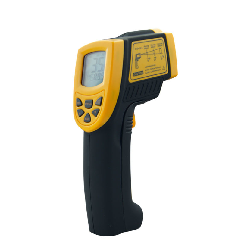 AR842A+ IR Digital Infrared Thermometer electronic -50~600C(-58-1112F) Point handheld temperature measuring Gun instrumentsAR842A+ IR Digital Infrared Thermometer electronic -50~600C(-58-1112F) Point handheld temperature measuring Gun instruments