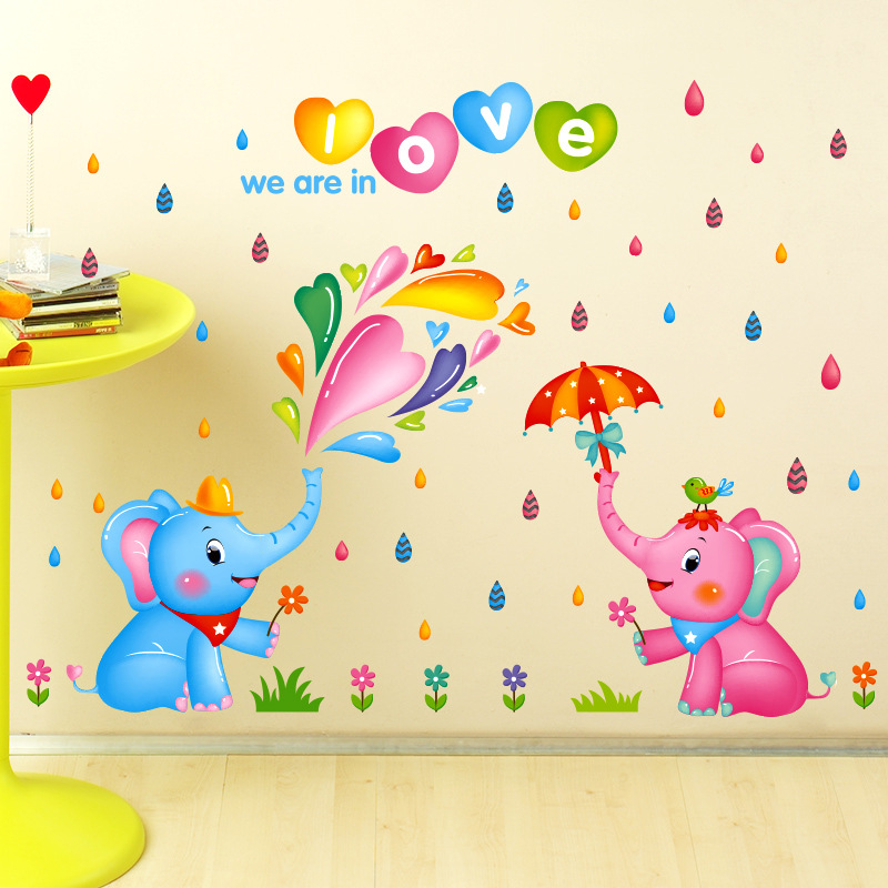 Old Fashioned Childrens Wall Decor Stickers Embellishment - Wall Art ...