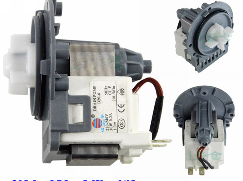 цена на for washing machine Original parts B20-6 30w drain pump motor good working