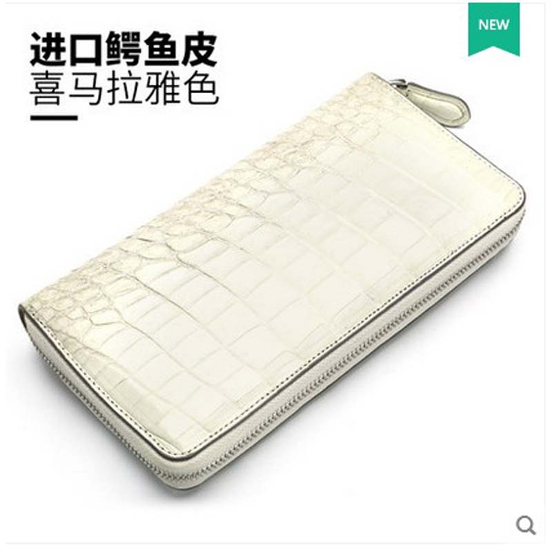 hlt High - grade crocodile wallet lady 2017 new leather long leather long zipper with a wallet dadi1 dadi hlt 102