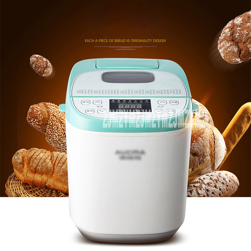 цена на New Hot Steamed bread machine home full automatic intelligent and noodles cake rice bag Bread Makers AMB-512 Bread machine 220V