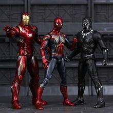 Marvel Мстители эндшпиль Железный человек паук Железный человек танос Тор Халк Капитан Америка фигурка игрушки для детей мальчиков