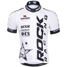 ¡ Caliente! rock racing 2016 pro cycling team jersey de manga corta camisa de la bicicleta ropa ropa ciclismo mtb bike clothing hombre sportwear