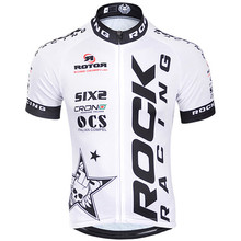 Hot!ROCK RACING 2016 pro team Cycling Jersey Short Sleeve Bike Clothing MTB shirt bicycle clothes ropa ciclismo hombre Sportwear