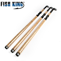 FISH KING Telescopic Surf Rod 3.9M 4.2M 50 150G 5 Secitions 4 Guides Ocean Boat Fish Carbon Sea fishing Carp rod Surfcasting rod