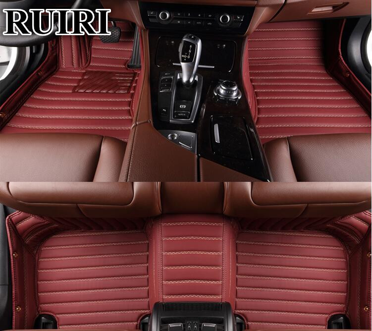 Custom special floor mats for Toyota 4Runner 2017-2010 waterproof durable carpets for 4Runner 2016