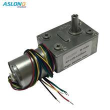 ASLOGN JGY-2430 Brushless DC worm gear motor motor speed motor