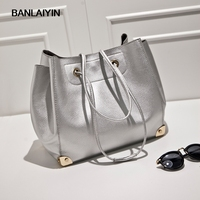 Leather Bags Handbags Women Famous Brands Big Women Casual Bags Tote Shoulder Bag Ladies Large Retro