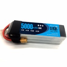 DXF Power 6S 22.2V 5000mah 50C RC Lipo AKKU Max 100C RC Lipo Li-polymer Battery For Yak 54 Align 7.2 800E Helicopter RC Drone