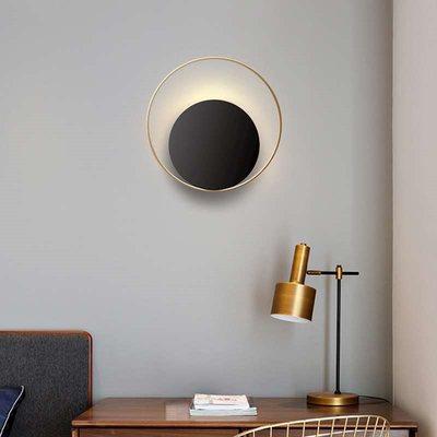 Lamparas de techo lâmpada nordic moderna arandela levou para o quarto Abajur de cabeceira fundo ouro papel de parede casa deco luz conduzida da parede dispositivo elétrico|Luminárias de parede| |  - title=