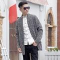 Otoño para hombre suéteres de géneros de punto moda casual masculina capa de la rebeca de punto para hombres sweater C87