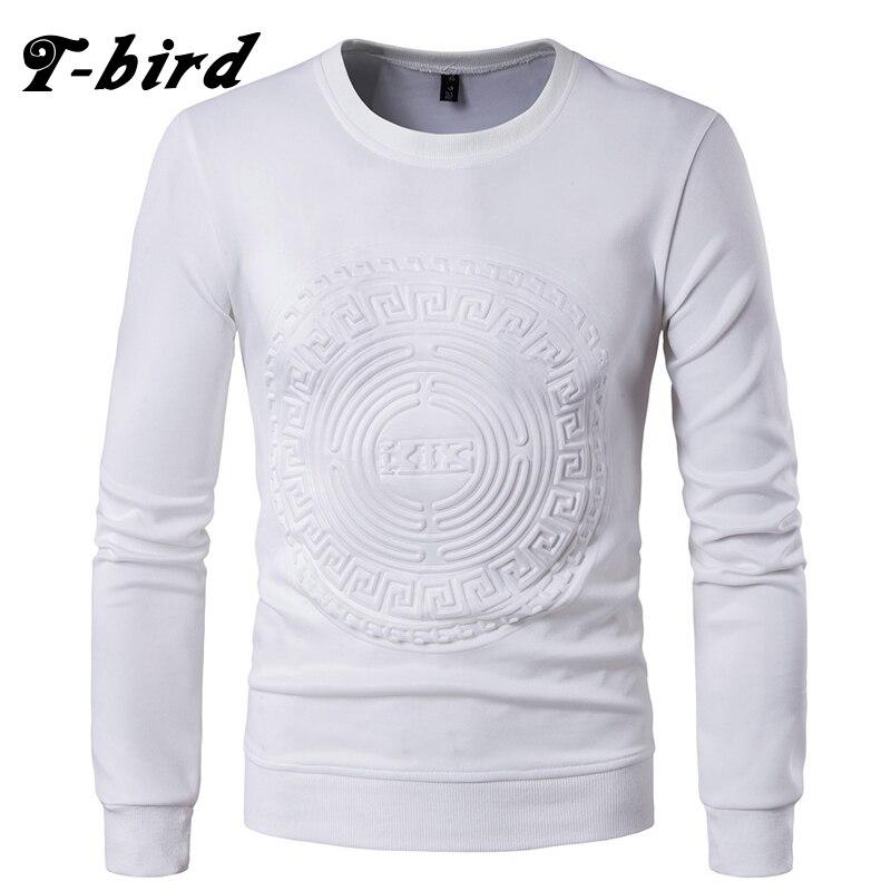 T Bird Sweatshirts Men 2017 Brand Hoodie 3D Printing Fashion O Nekc Hip Hop Male Pullover