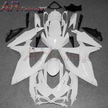 08-10 For Suzuki GSX-R 600/750 Unpainted Molding Injection ABS Fairings Kit Bodywork GSX600R GSX-R600 GSXR750 2008 - 2010 2011(China)