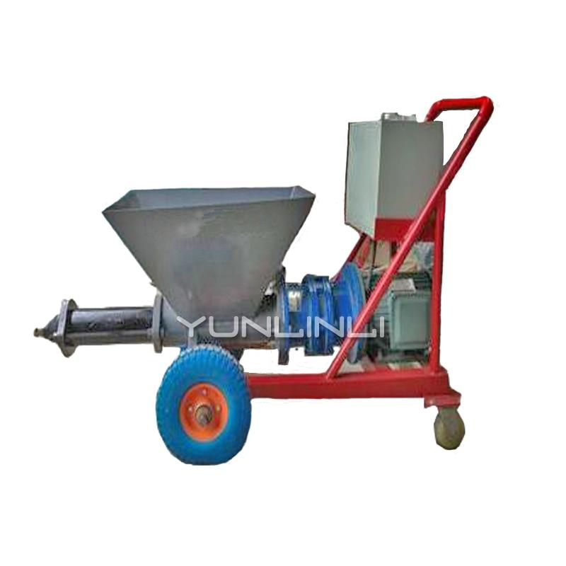 Tipo horizontal/vertical de alta pressão do grouter 220 v do cimento da pintura do injetor do cimento