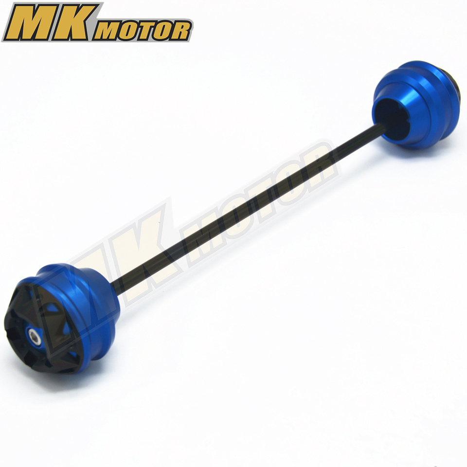 Free shipping For BMW K1600GT 2011 2015 CNC Modified Motorcycle Front and rear wheels drop ball shock absorber in Covers Ornamental Mouldings from Automobiles Motorcycles