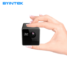 D'origine BYINTEK Marque P1 P1plus Poche Pico Vidéo Micro Enfants Chilren Cadeau DLP LED Mini Téléphone HD Portable Projecteur Pour voyage