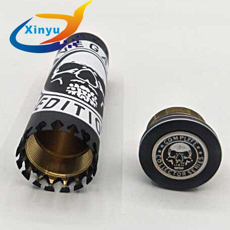 , AvidLyfe Complyfe Vegas MOD 18650/21700 battery 24.5mm/28mm Vegas Edition mod brass Vaporizer vape vs Kennedy 25 Vindicator MOD