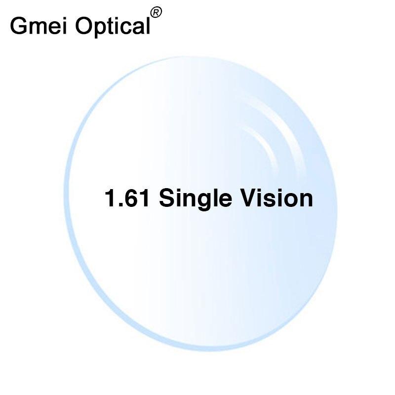 Radyasyon koruma 1.61 yüksek endeks ince şeffaf optik Lens HMC EMI Asphere Anti UV miyopi hipermetrop reçete lensler