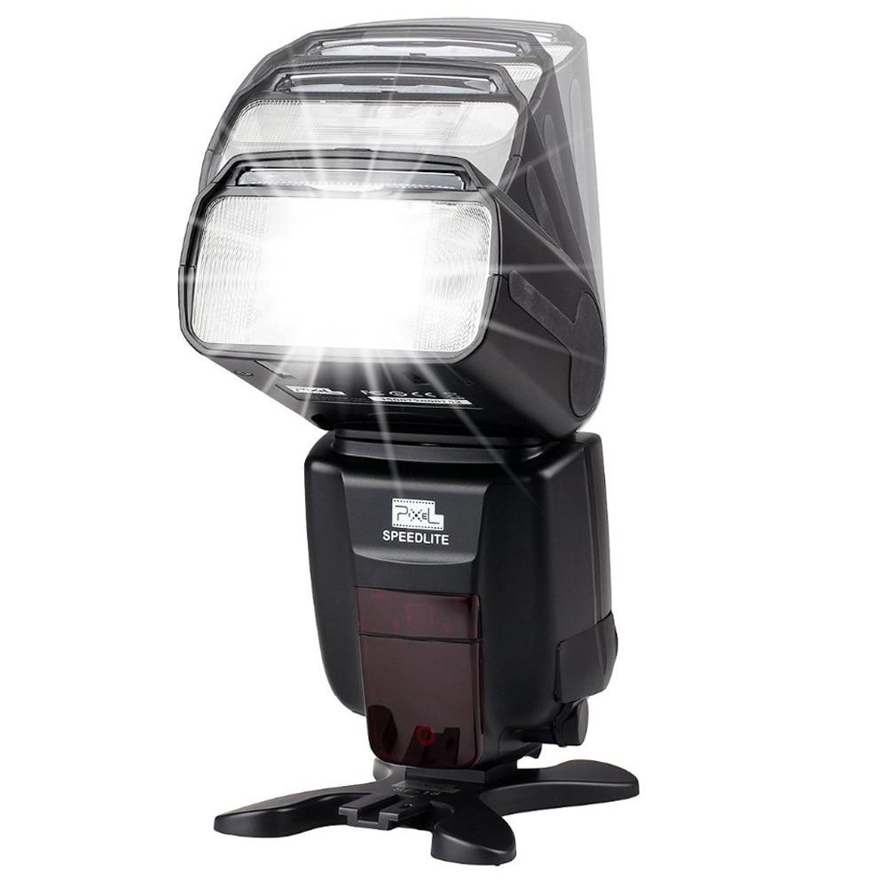 INSEESI Standard X800C X800N X800S GN60 Bezdrátový TTL HSS Flsh - Videokamery a fotoaparáty - Fotografie 2