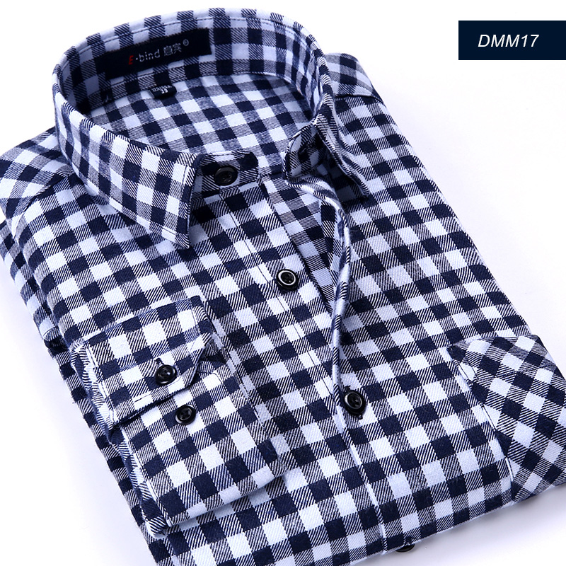 2015 new arrival top quality flannel men slim fit plaid for Mens slim fit flannel shirt