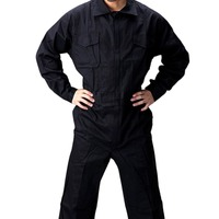 Washable Cotton Jumpsuit Overalls Coverall Men Spray Paint Working Clothes Dust Dirt Workplace Long sleeved Safety Clothing
