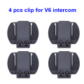 4 pcs V6 Clip Bracket Suitable for BT Interphone Motorcycle Helmet Headset Intercom for V6 V4 V2-500C