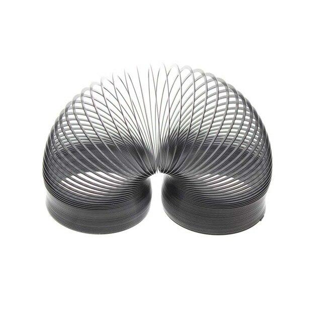 68*67*67 мм Размер Металлический Черный Оригинальный Магия Slinky Игрушка Весна Для Детей (Не Для Детей в возрасте до 3 Лет) И Взрослых