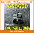 Rápido Envío Gratis 5 unids/lote Nuevo y Original AS5600-ASOM AMS IC codificador Magnético Sensor Magnético de medición de Ángulos AS5600 SOP-8 IC