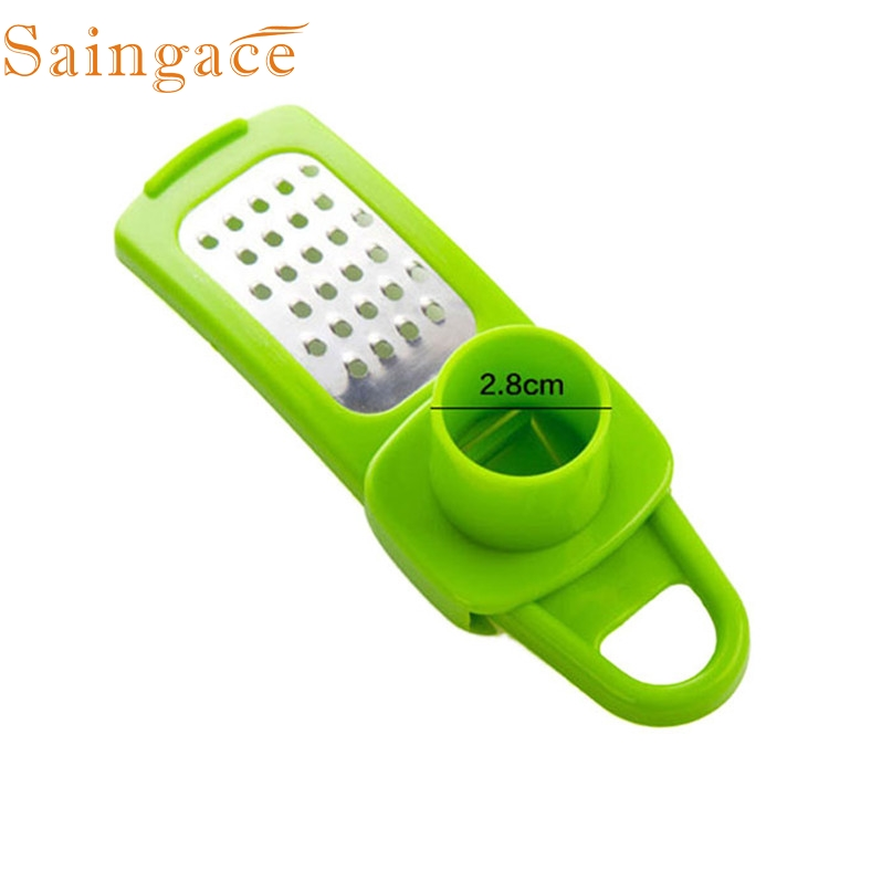 Home Wider Hot Selling High Quality Multifunction Stainless Steel Pressing Garlic Slicer Cutter Shredder Kitchen Drop Shipping