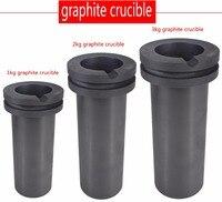 Free shipping!!!1pcs,1kg 2kg 3kg, gold Melting Furnace crucible, gold melter crucible, graphite crucible