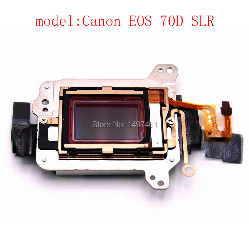 New Image Sensors CCD COMS matrix with Low-pass filter Repair Part for Canon 70D DS126411 SLR new original d7200 ccd cmos sensor with low pass filter for niko d7200 cmos camera repair part
