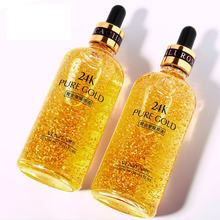 24K Gold Hyaluronic Acid Essence Replenishment Moisturize Shrink Pore Brighten Nicotinamide Skin Care Lift Firming