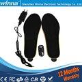 O MELHOR PRESENTE NOVA CHEGADA USB Alimentado Elétrica Aquecida Palmilhas Para sapatos Botas de Manter Os Pés Quentes Frete Grátis EUR TAMANHO 35-40 vermelho