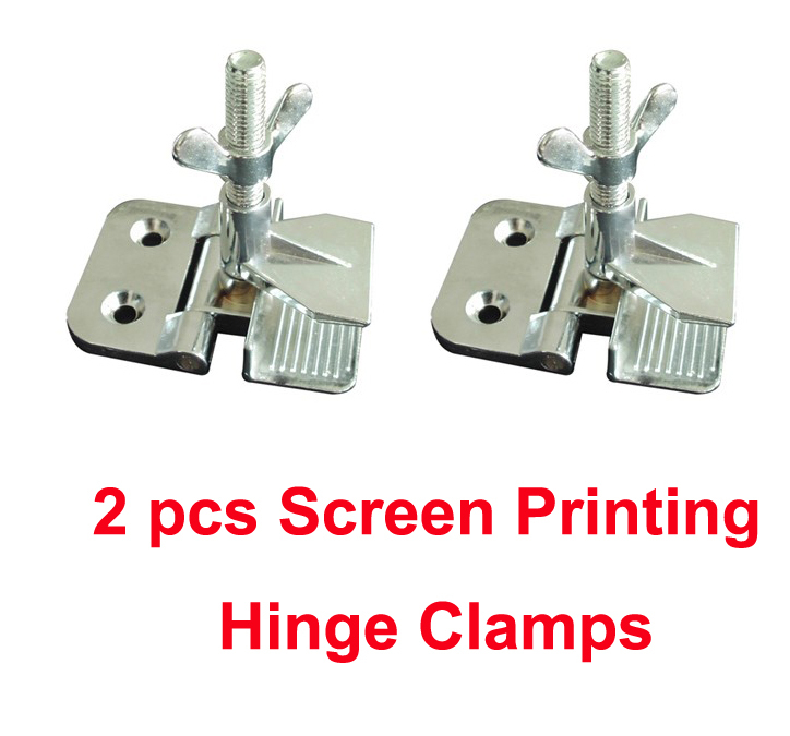 Free Shipping Cheap 2pcs Screen Printing Butterfly Hinge Clamps Wholesale 2