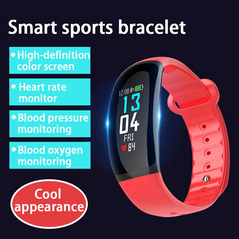 Smart Watch B70 B86 Men Women Fitness Tracker Heart Rate Monitor Smart Bracelet Blood Pressure Pedometer Android IOS